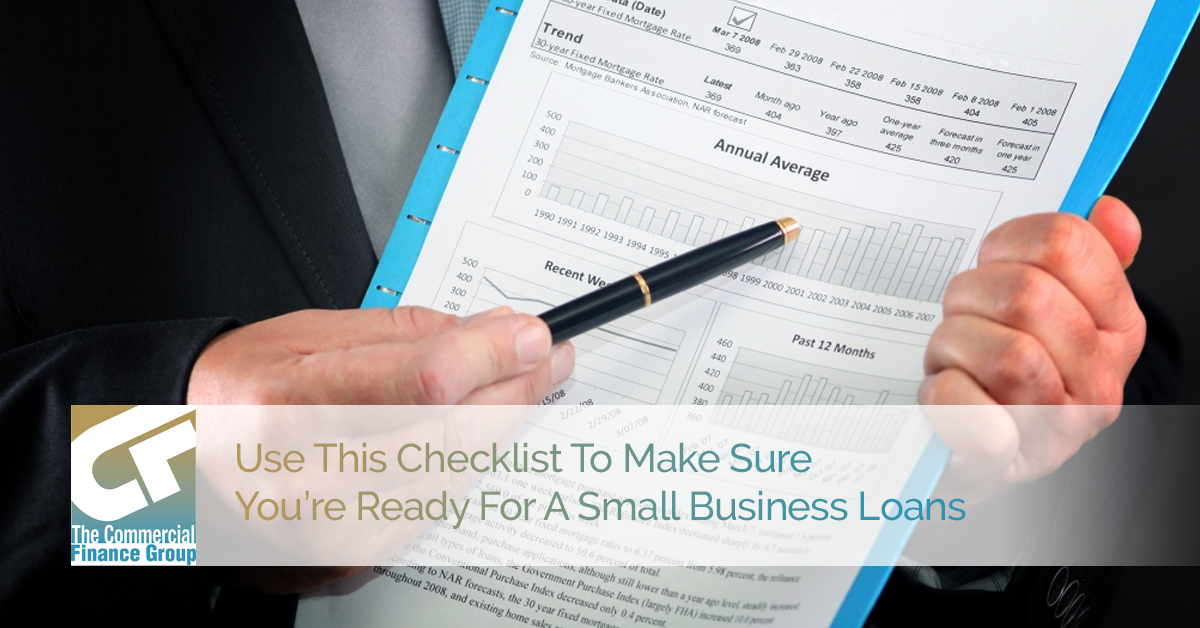 Use This Checklist To Make Sure You're Ready For A Small Business Loan