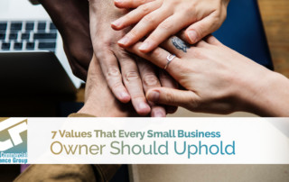 7 Values That Every Small Business Owner Should Uphold